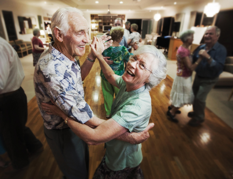 Dancing Indoor Activity For Seniors Senior Couple Dancing