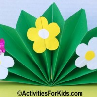 Spring Flowers Craft