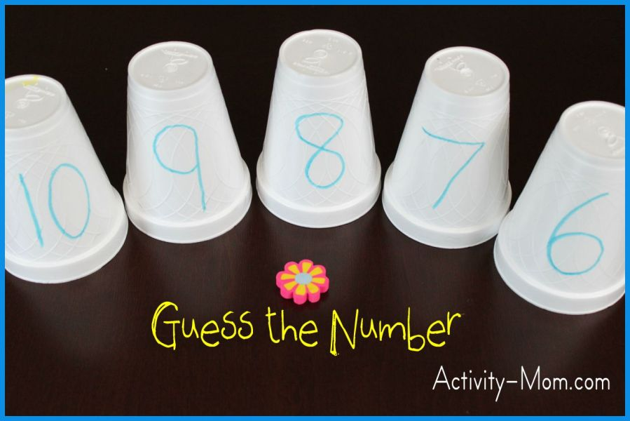 The Activity Mom   Guess the Number   The Activity Mom Guess the Number