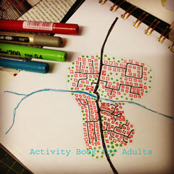 planning a little town with river and main road