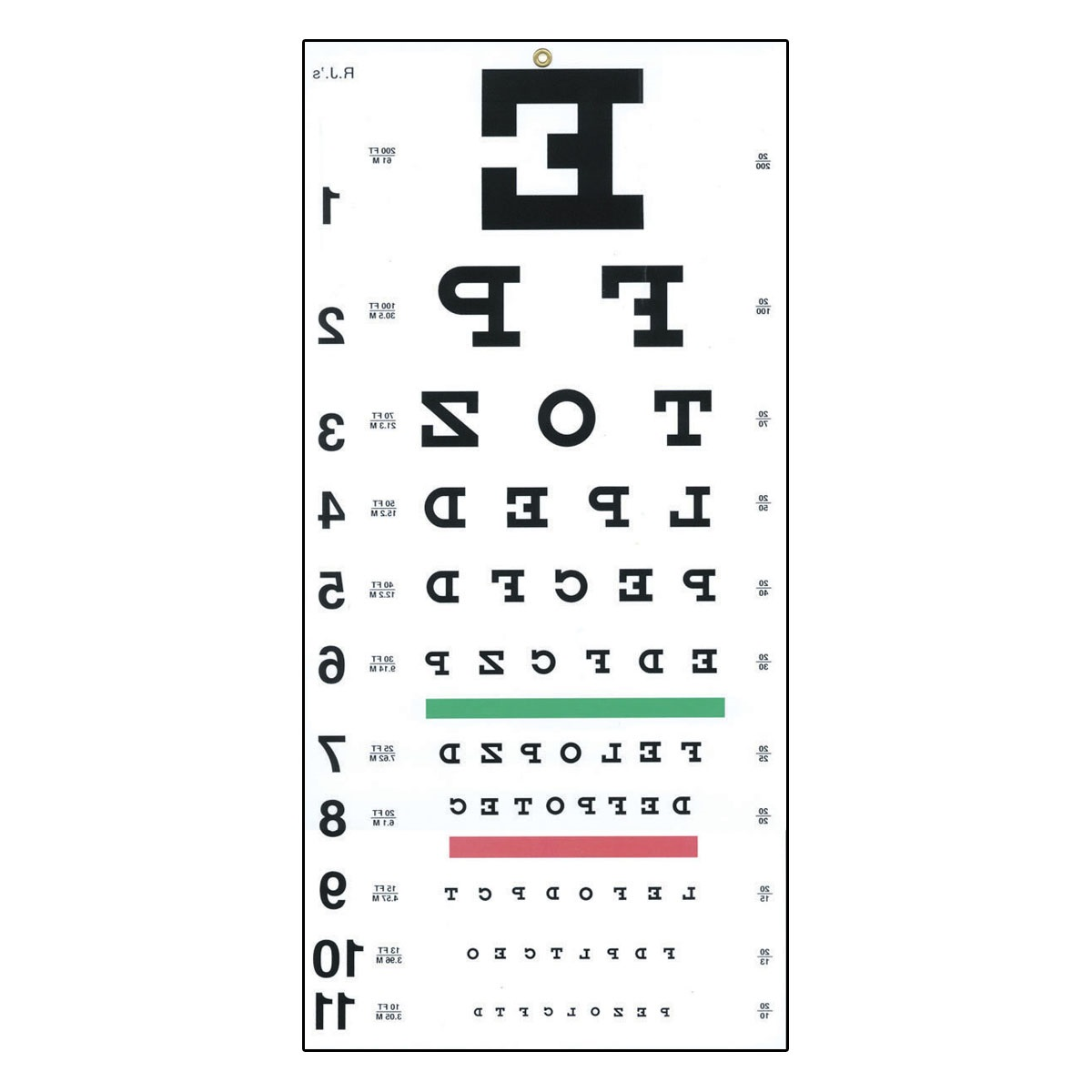 image relating to Printable Snellen Charts known as Printable Opticians Eye Chart