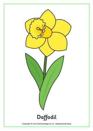 Daffodil Printables