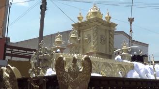 Procesion Jesus de los Milagros 2014, San Jose (48)
