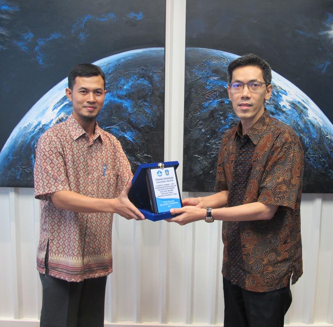 Kunjungan Industri Oleh SMK 4 Tangerang