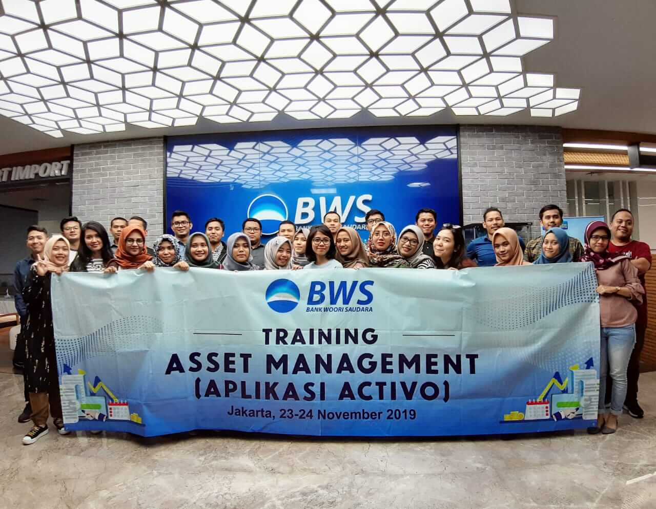 Activo Advanced Training for Bank Woori Saudara (BWS)