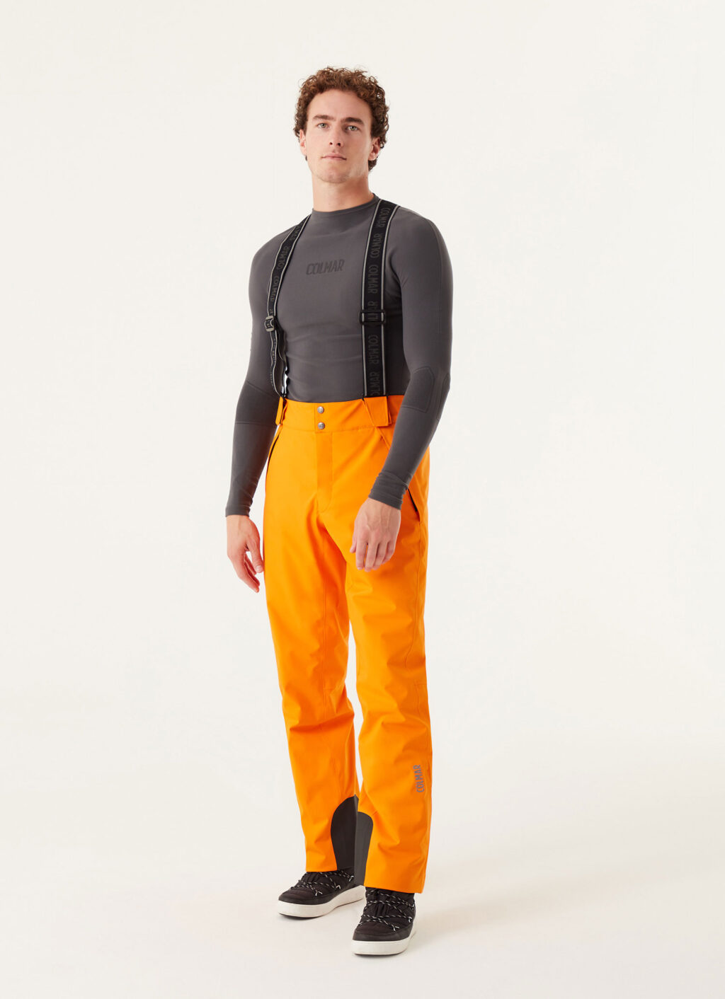 Pantaloni de ski Colmar Mech Portocaliu