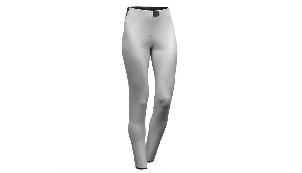 Pantaloni de ski Colmar Softshell alb 0267-01