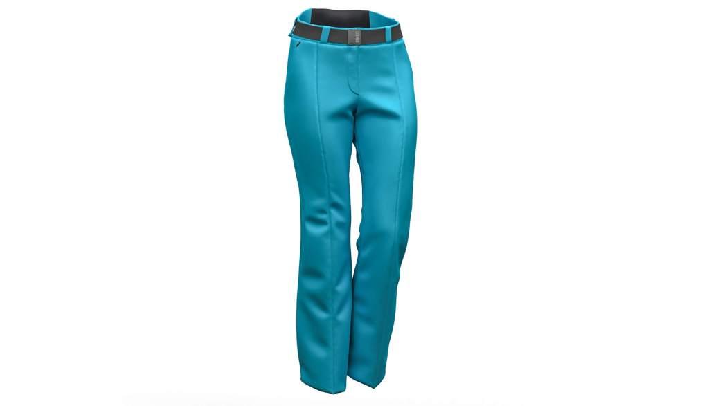 Pantaloni de ski Colmar Ecostretch turcoaz 0433-361