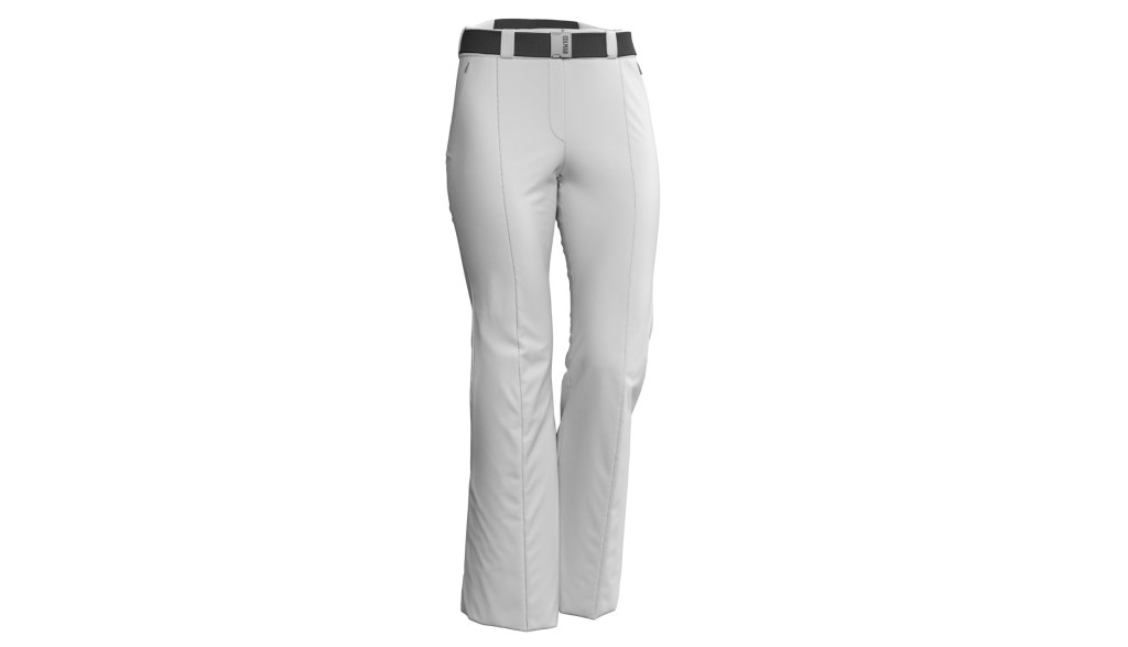 Pantaloni de ski Colmar Damă Stretch Advanced Alb 0433-01