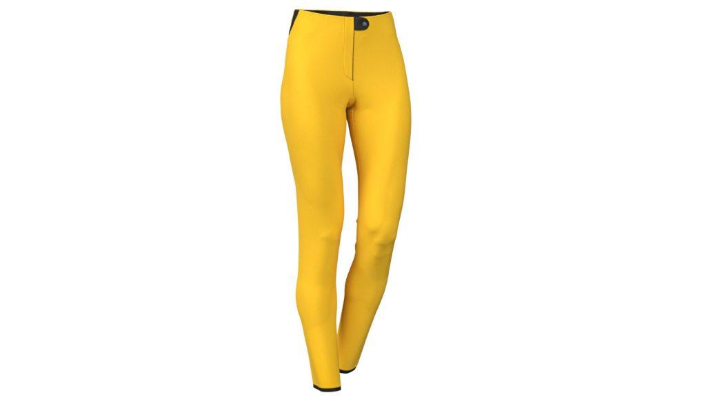 Pantaloni de ski Colmar Damă Softshell Galben 0267-504