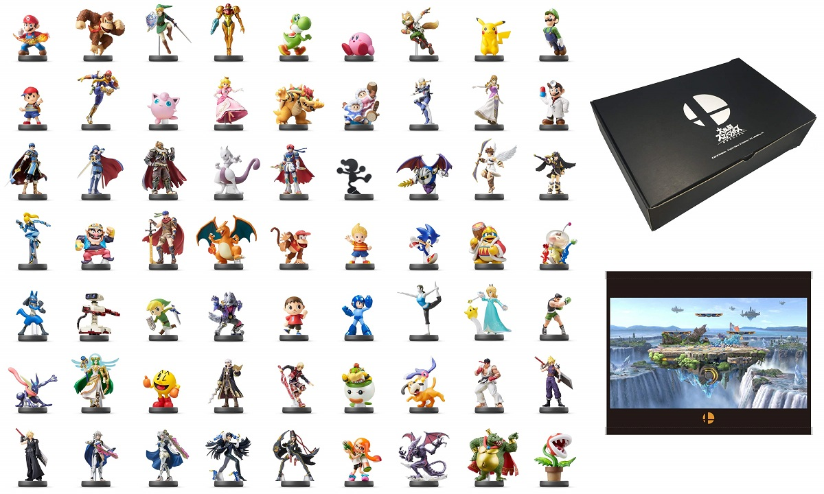 Coffret Collector Amiibo Pour Super Smash Bros Ultimate