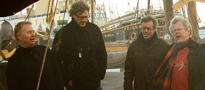 De groep Act of Mutiny, Jeroen Burggraaf, Leo van der Ark, Herman Hol en René Lignac