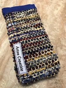 Acton Creative Recycled Necktie Eyeglass Case