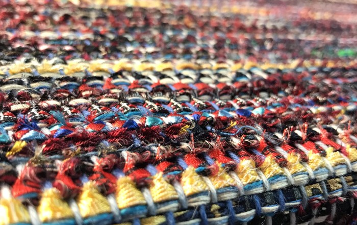 JFamily Handwoven Recycled Fabric