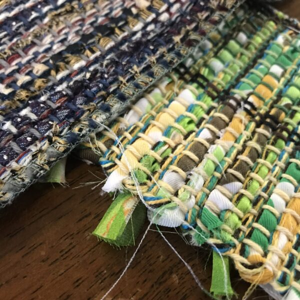 Recycling and weaving