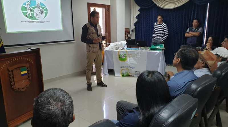 APCSA capacitó a productores de Chaguarpamba