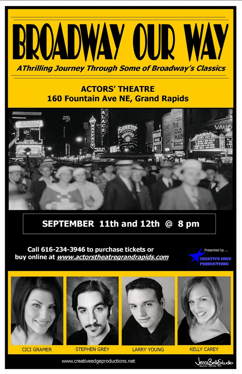 Appearing this September at Actors' Theatre