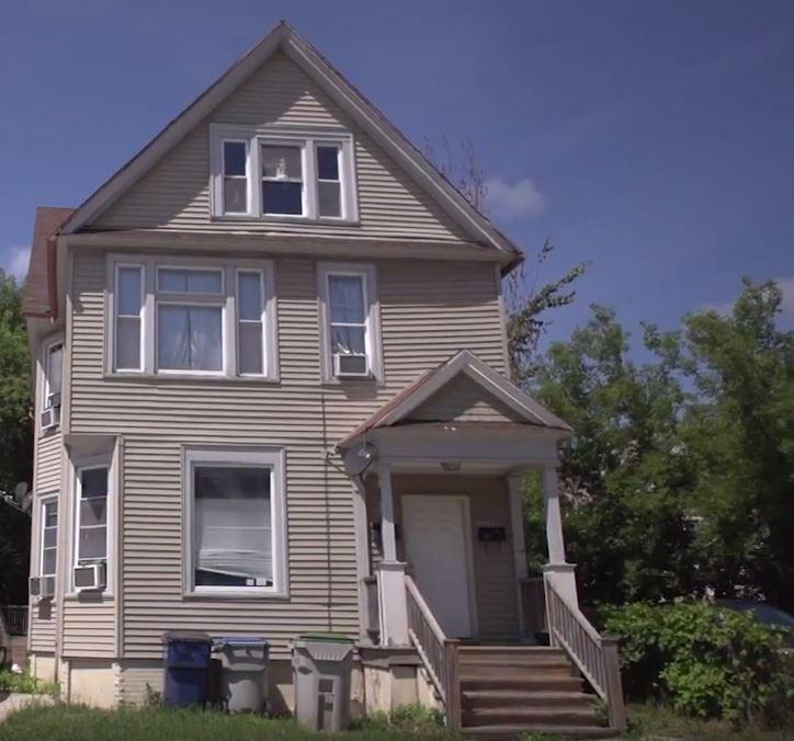 The home of Yussuf and his family on Milwaukee's Eastside.