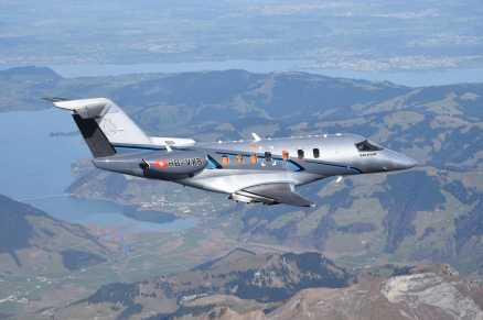 prototype PC-24 (P02) ©Pilatus Aircraft Ltd