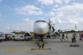 Brussels Airport / Ryanair - DSC_0689 par Cha già José sous (CC BY-SA 2.0) https://www.flickr.com/photos/chagiajose/5983364076/