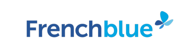 French blue logo