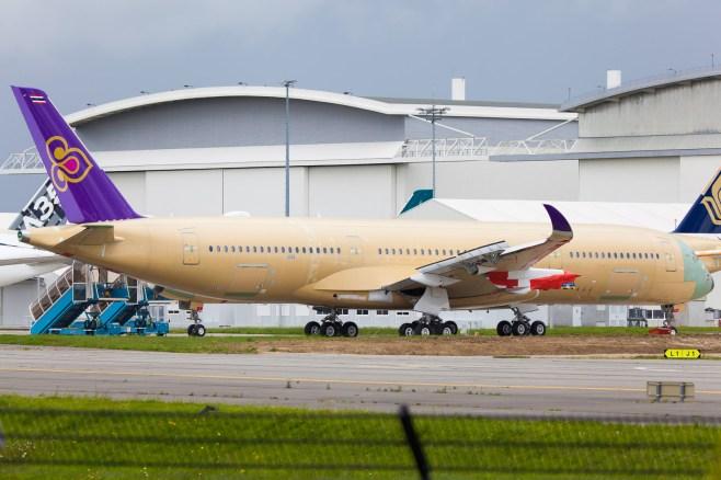 A350 Thai Airways - Clément Alloing