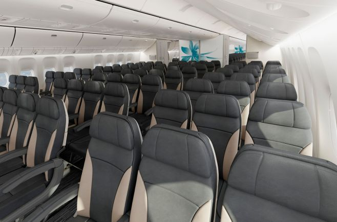 Cabine Classe Loisirs Boeing 777-300 Air Austral
