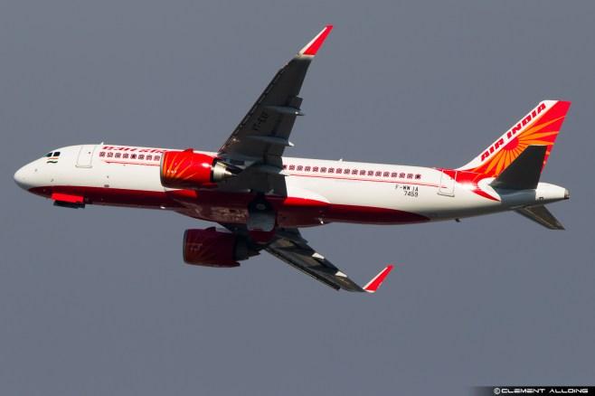 Air India Airbus A320-251N(WL) cn 7459 F-WWIA // VT-EXF