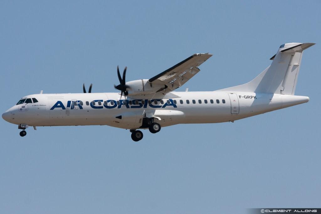 Air Corsica ATR 72-500 (72-212A) cn 727 F-GRPK