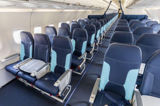 Nouveaux sièges Affaire avec la tablette de séparation