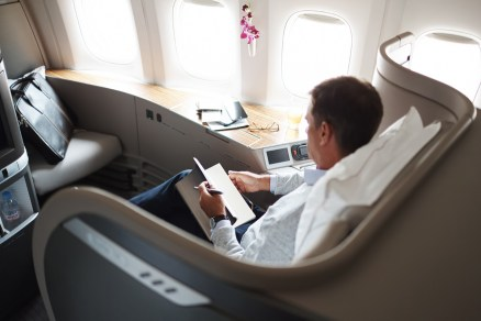 Business classe Cathay Pacific