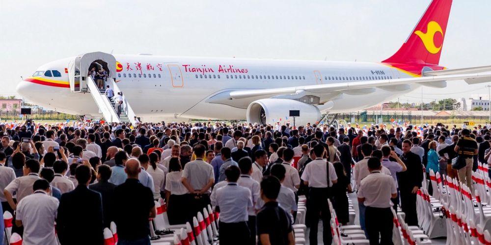 Centre d'Aménagement Commercial et de Livraison A330 à Tianjin,, en Chine
