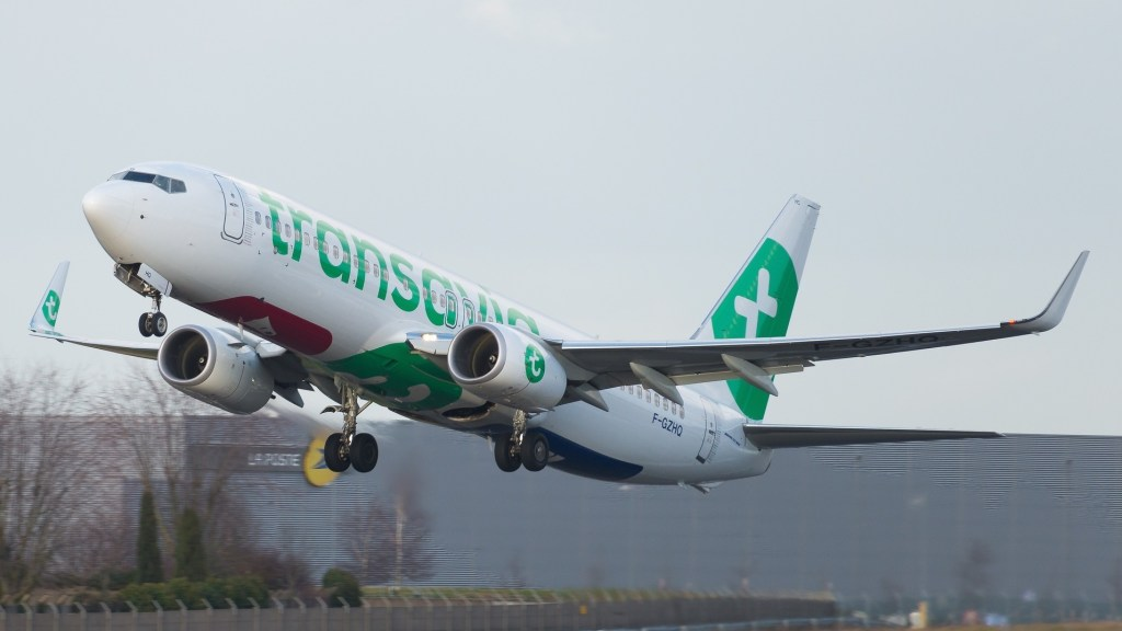 Boeing 737-8K2 Transavia France F-GZHQ