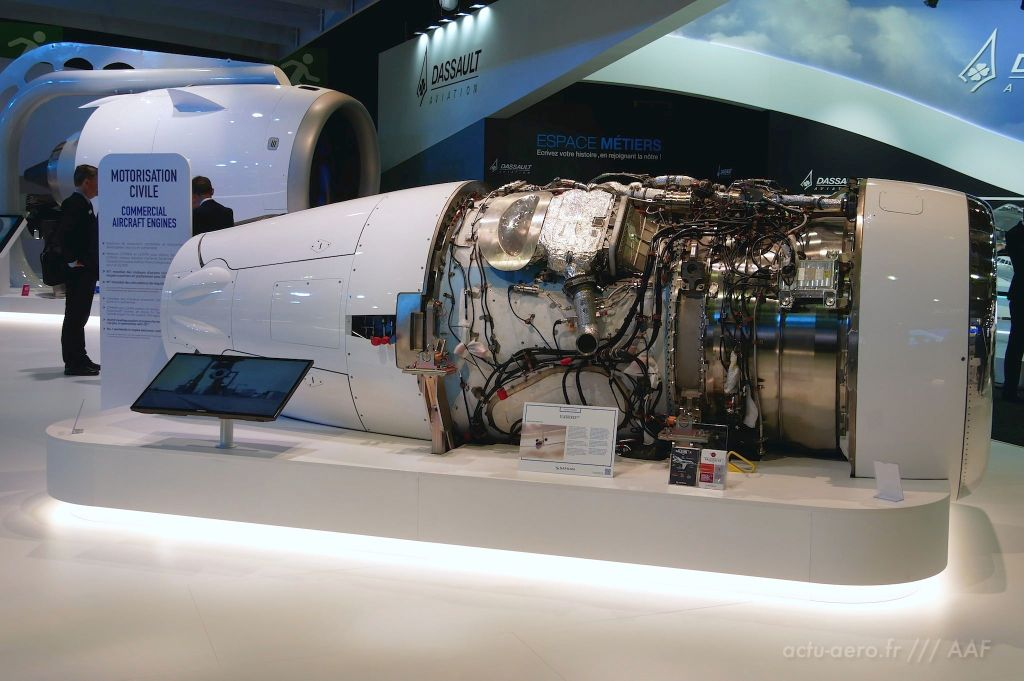 moteur Silvercrest de Safran Aircraft Engines