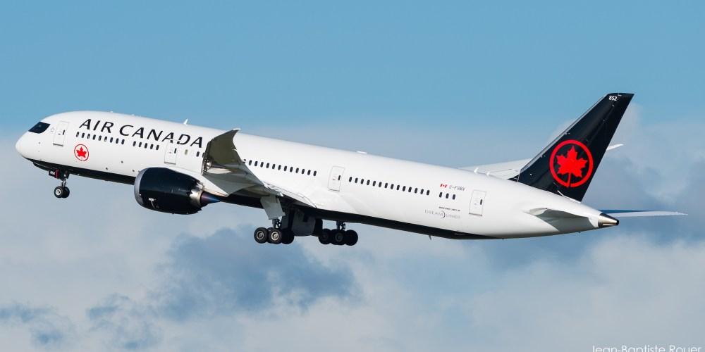 Le 787-9 de chez Air Canada arborant la nouvelle livrée prise le 05/11/2017 (c) Jean-Baptiste Rouer - reproduction interdite