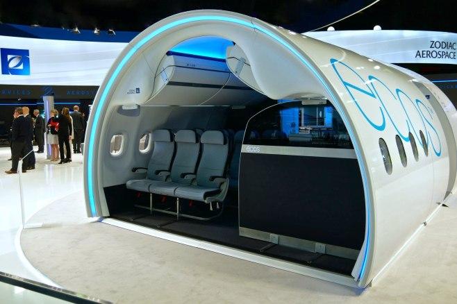 ZODIAC Aerospace au salon du Bourget 2017