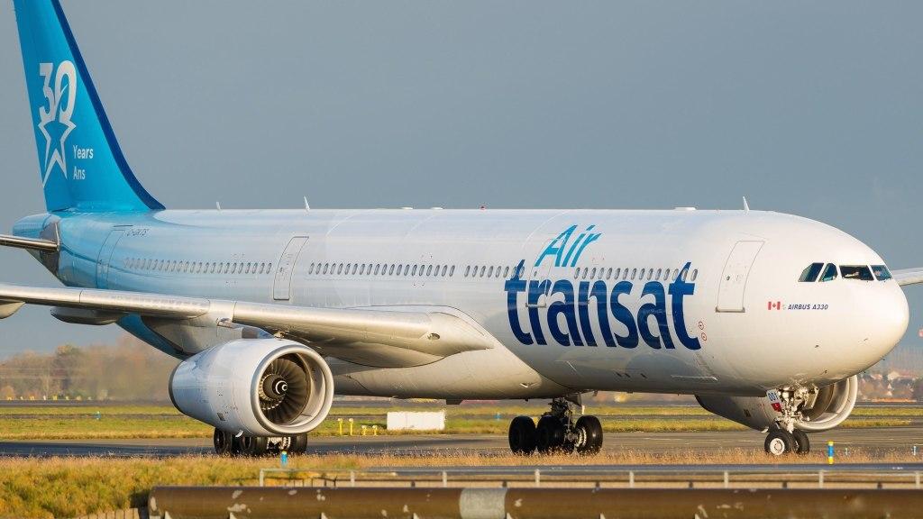 "Airbus A330-342 Air Transat ""30th Anniversary Livery "" C-GKTS"