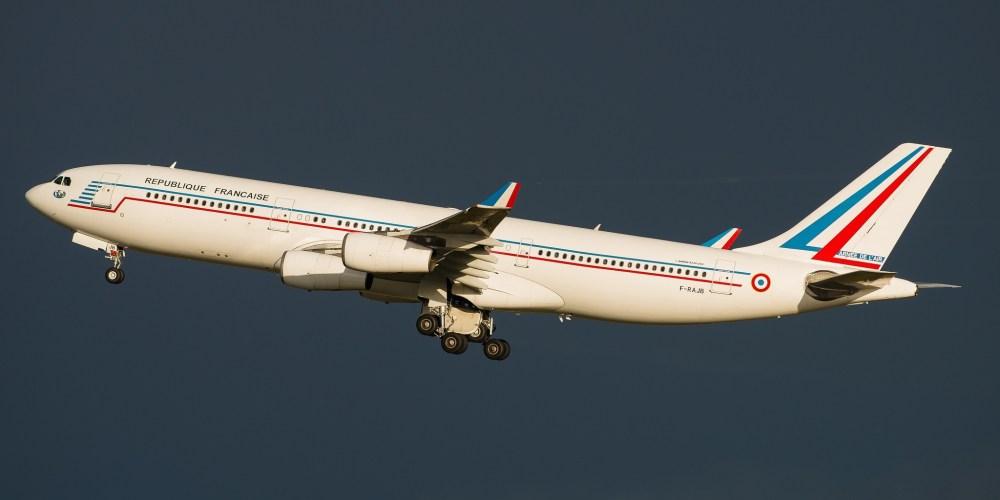 Airbus A340-212 French Air Force F-RAJB