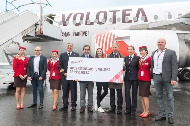 Une jeune nantaise « 15 millionième passager » de Volotea