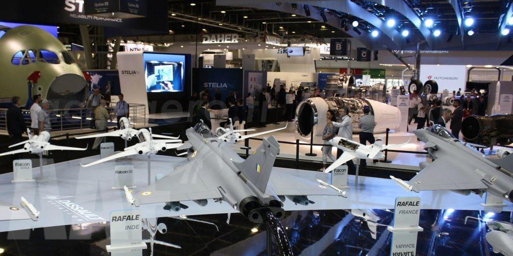 Stand Dassault Aviation au SIA Paris Le Bourget 2017