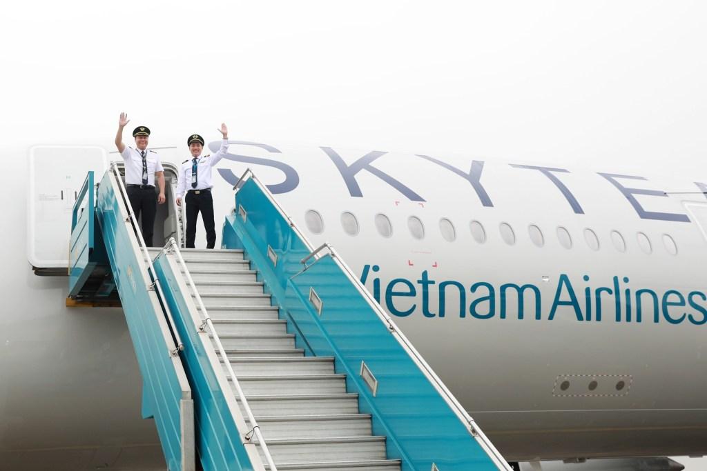 1er A350 Skyteam F-WZFN / MSN 197 / VN-A897