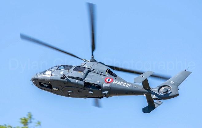 Aerospatiale SA-365SP Dauphin - French Navy (35F) - CN 6191