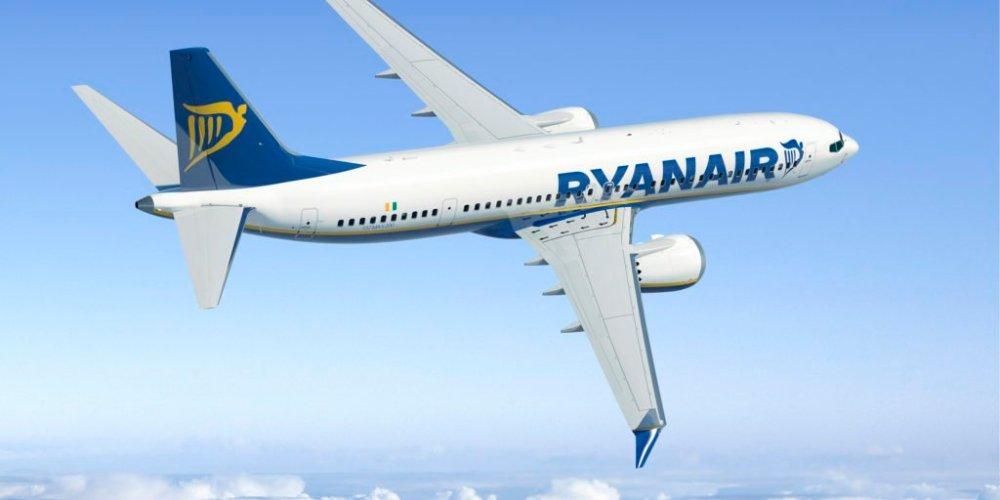 Boeing 737 MAX 8 Ryanair