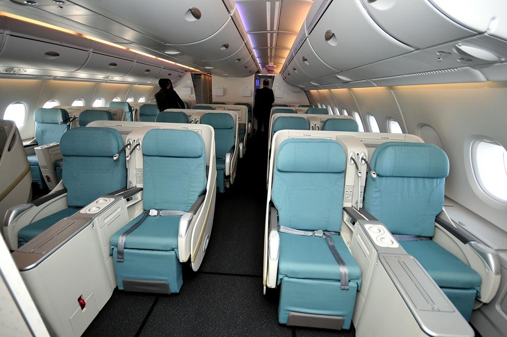 """Classe Affaire """"Prestige"""" et sièges Sleeper Prestige des A380 Korean Air"""