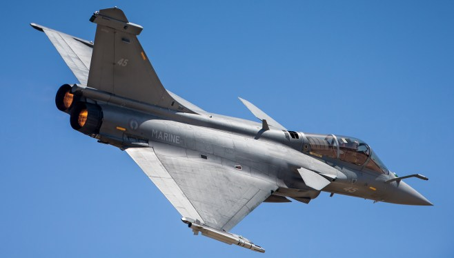 French Navy Rafale M - 11F Squadron