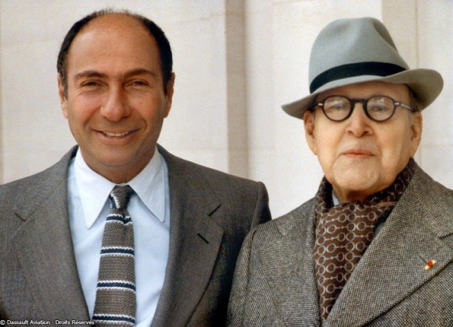 Marcel et Serge Dassault