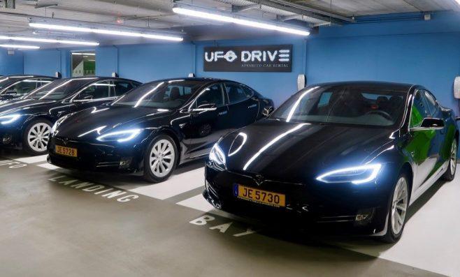 Parking à l'aéroport de Luxembourg