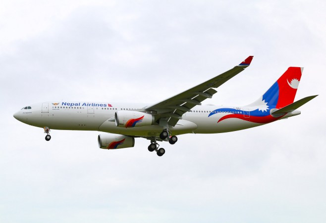 "Airbus A330-243 Népal Airlines s/n 1872 9N-ALY ""Annapurna"""