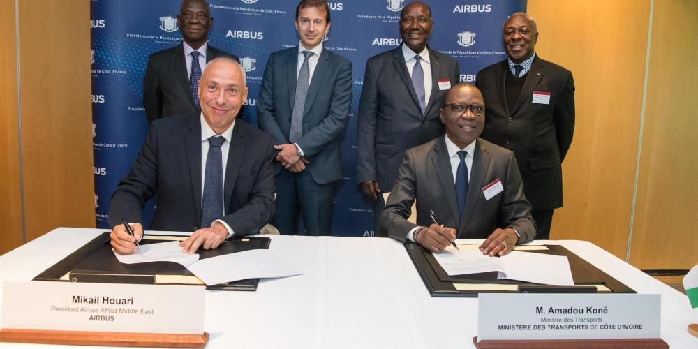 Airbus partenaire de la Côte d'Ivoire