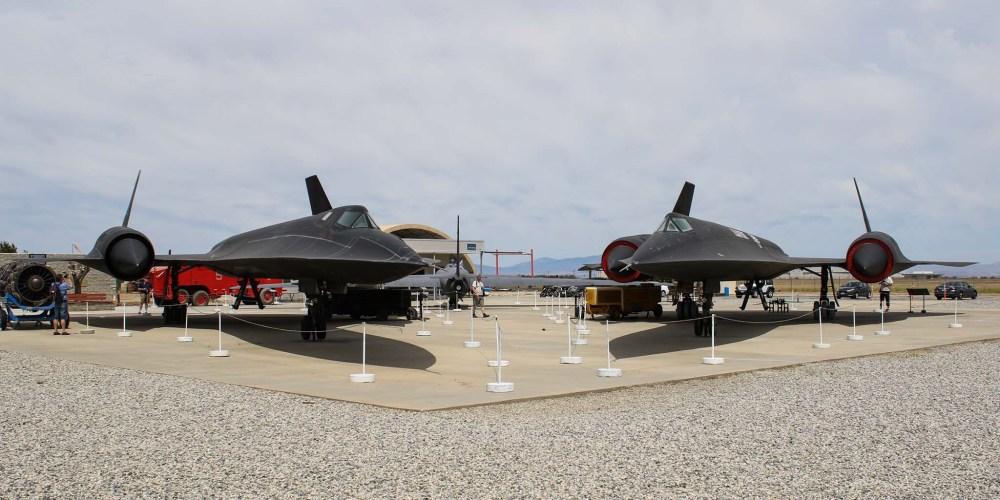 Lockheed Blackbird et oxcart
